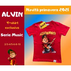 T-shirt Alvin Guitar