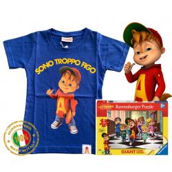 Alvin STF royal puzzle T-shirt