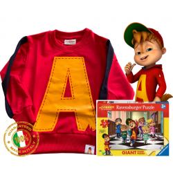 Alvin Mitica puzzle sweatshirt