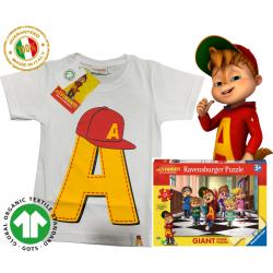 Bio Alvin Big A puzzle T-shirt