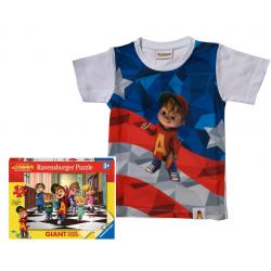 T-Shirt Alvin USA + puzzle...