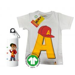 T-shirt Alvin Bio + borraccia
