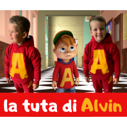 Hooded Alvin suit