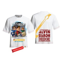 Alvin & the band T shirt