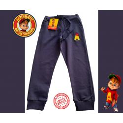 Pantalone Alvin  jogging in felpa garzata